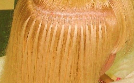 прически для наращиваных волос фото